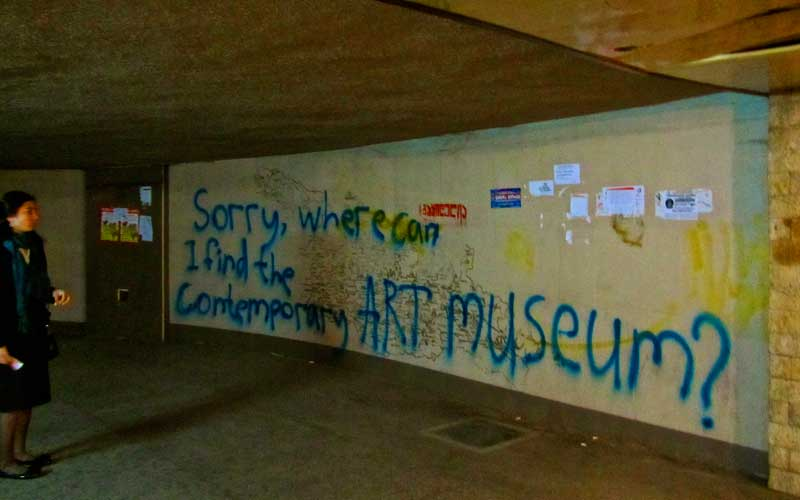 Sorry, where can I find the Contemporary Art Museum?